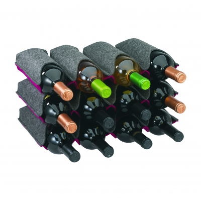 F323 ONDA Twelve Bottle Wine Rack