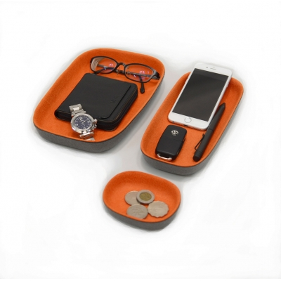 F380 OVALE Three Pack Felt Tray