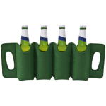 F324 FELT 4-Bottle Beer Holder