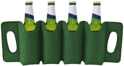 F324 FELT 4-Bottle Beer Holder